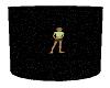 Black Glitter Background