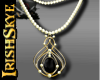 IS~Gold & Onyx Necklace