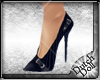 DD Pinstripe Shoes Navy