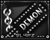 !!S Mouth Paddle DEMON