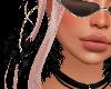 Black Pom-Pom Earrings