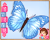 « Kids Blue Butterfly