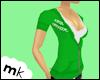 [MK] Lace Hoodie Green
