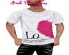 Love Half Heart Mens