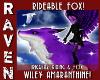 WILEY PURPLE FOX!