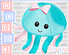 🐾 OctoPlush Blue