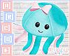 🐾 OctoPlush Blue