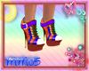 New Rainbow Boots