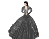 (V)silver ball gown