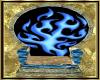 ~D~ blue flam thone