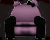 ⛧:  Goth Kitty Chair