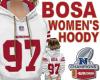 BOSA WOMEN'S HOODY   W