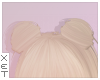 ✘ add-on buns blonde