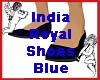 India Royal Shoes Blue