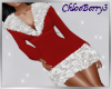 Winter Knit Dress Red