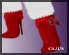 Christmas Fur Boots