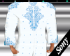 Kurta* WHITE BLUE