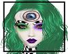 Vanessa green hair