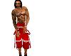 {XTN}red long shorts
