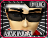 [F] Black Eye Glasses
