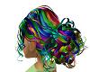 Rainbow Del hair 1