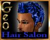 Geo Tasreha sparkle blue