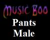 Music Boo Pants Male