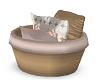sloth pillow basket