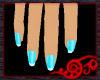 Tropical Nails Aqua