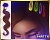 ღ 90's Snap Hair Clips