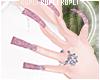 $K Glitter Nails e