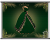 Grn/Gold Christmas Gown