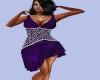 [B] Purple Velvet Mini