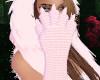 Pink Kitten Gloves