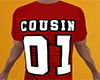 Cousin 01 Shirt Red (M)