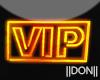 VIP orange Neon