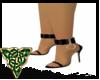 Black Anklecuff Heels