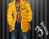 {3J}Down Jacket Yellow