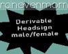 Derivable Head Sign MF