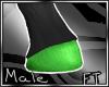 (M)Grn Horse Feet[FT]