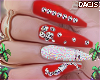 d. babe nails red