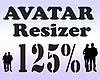G` Avatar Resizer 125%