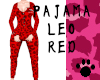 Pajama Leo Red