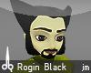jm  Rogin hair darkblack