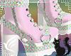 Pastel Clown Boots