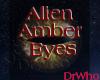 Alien Male Amber Eyes