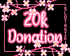 🦥20k Donation Support