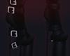 ☪ boots succubus black