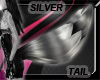 Silver/Black Tail