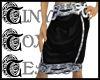 TTT Drape Skirt ~ Black